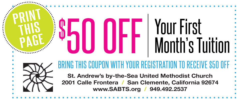 St. Andrew's Coupon