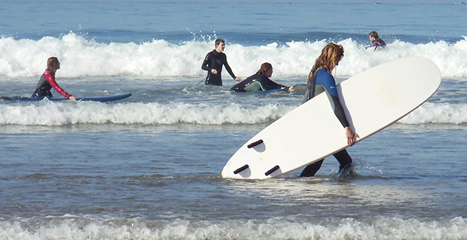 Beginning Surf Lessons